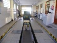 Test lane