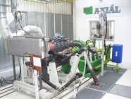 Engine test cell