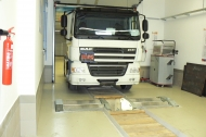 Power measurement for heavy lorry category