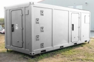 Repairing-maintenance workshop container, tent
