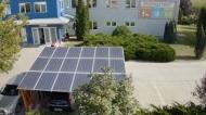 Energotest - Napelemes parkoló